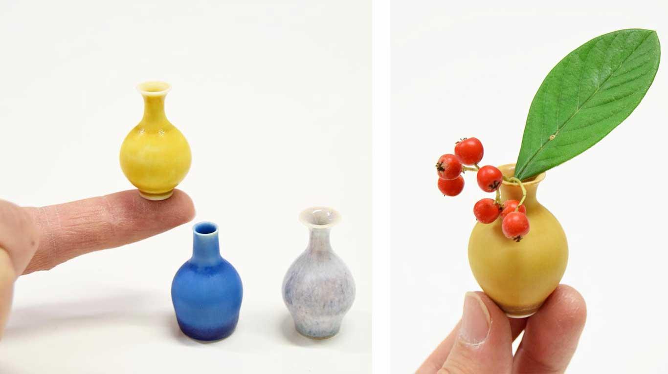 Yuta Segawa miniture ceramic pots