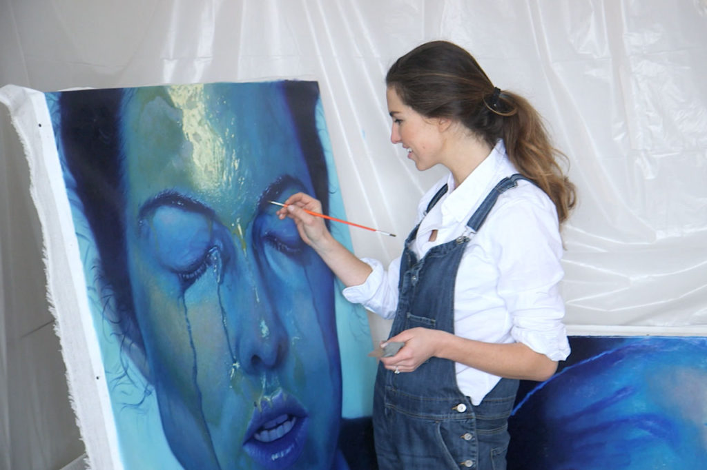 Irina Starkova painting.