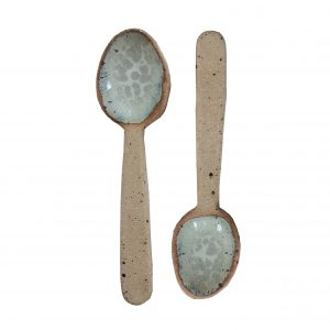 Ceramic Spoon – Sea Green