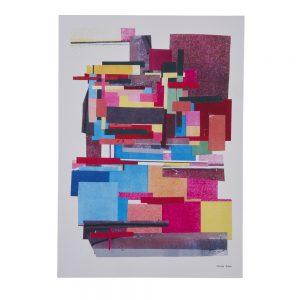 'Pixelated' print