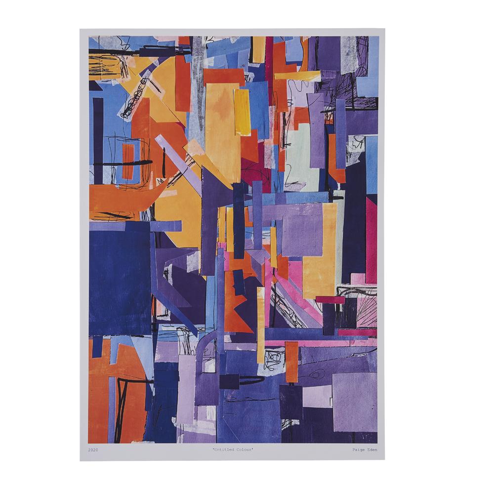 'Untitled Colour' print