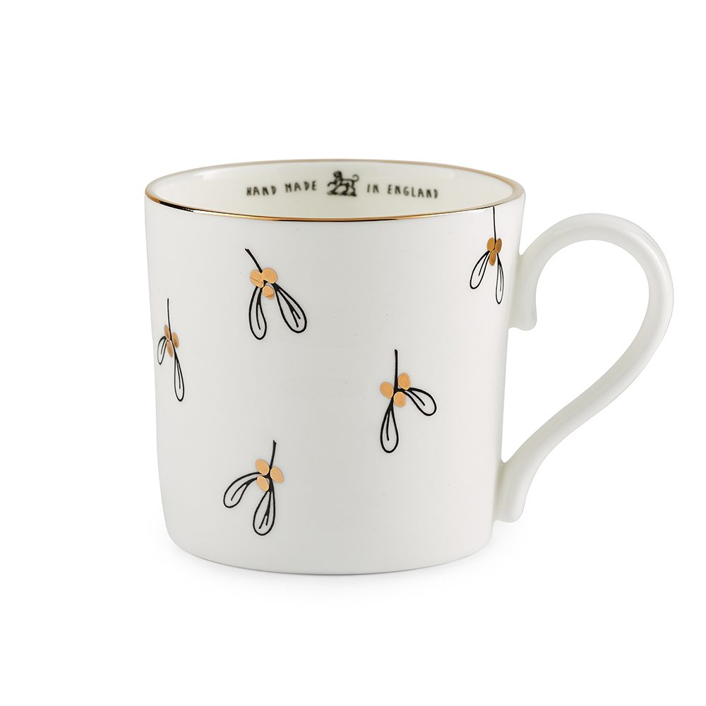 Christmas tableware - mistletoe mug
