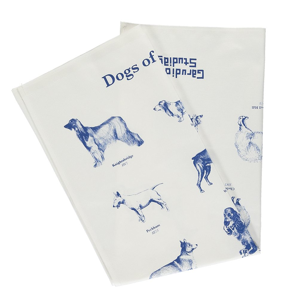 Cool tea towels - Dogs of London