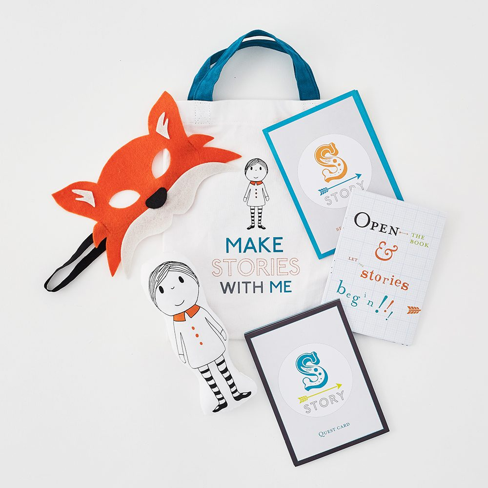 Creative gifts for children - Walk in Story book