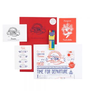 Creative gifts for kids - travel activity pack