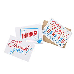 Creative Stationary Thank You Cards Pack