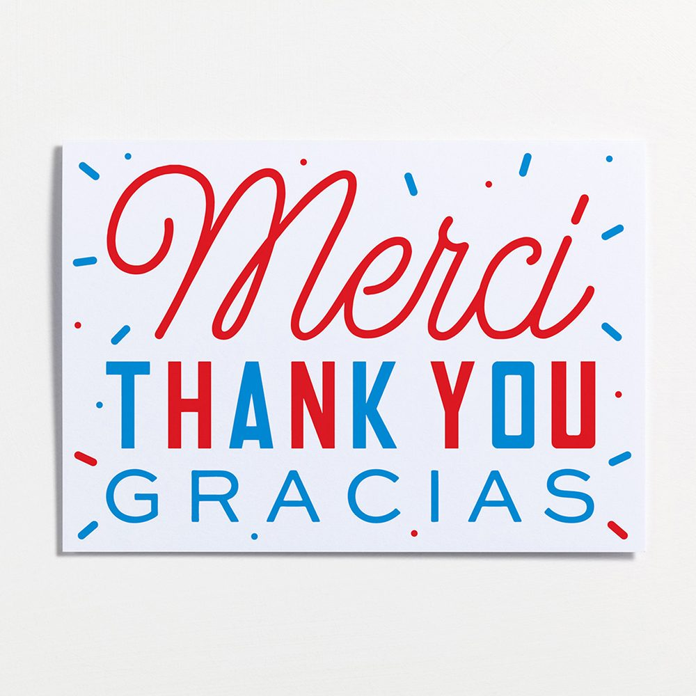 Creative Stationary Thank You Cards Pack Design