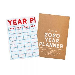 2020 Wall Planner by Crispin Finn