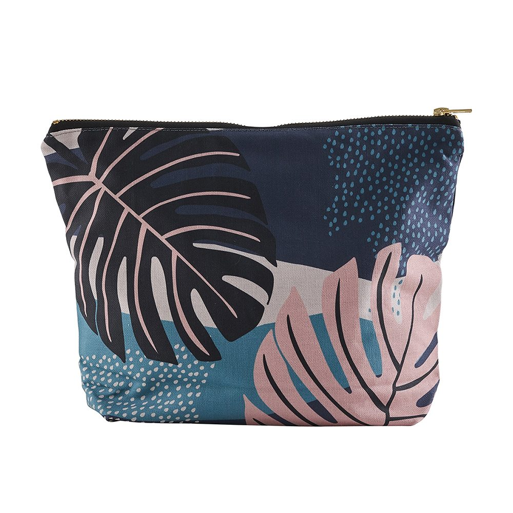 Leaf print wash bag by Keeler and Sidaway