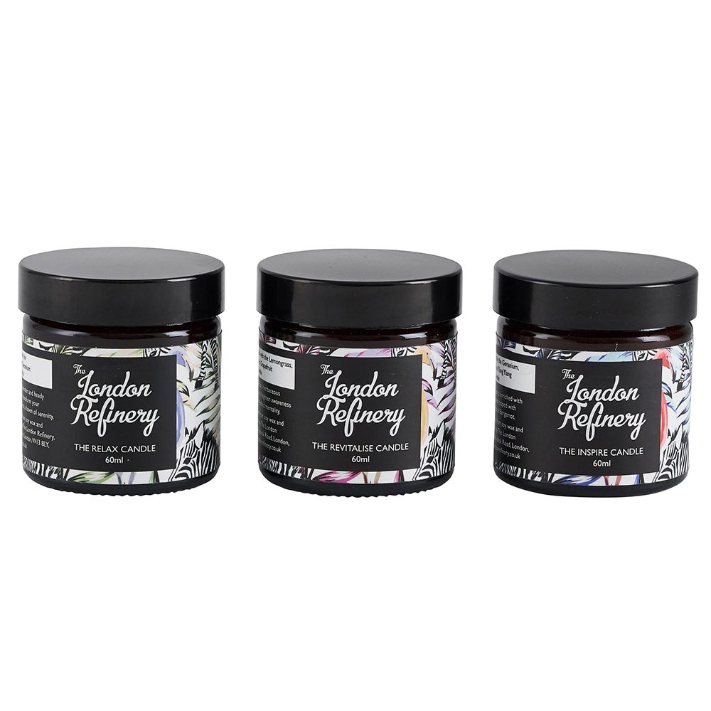 Luxury candles - set of 3
