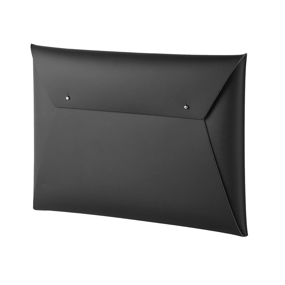 Stationery gifts - recycled leather document case black