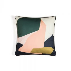 Abstract shapes designer cushions by Keeler and Sidaway