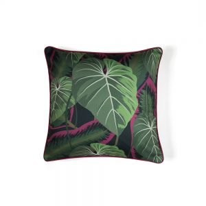 Jungle print designer cushions