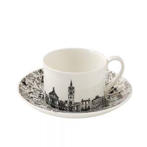 Designer homeware - North London cup and saucer set