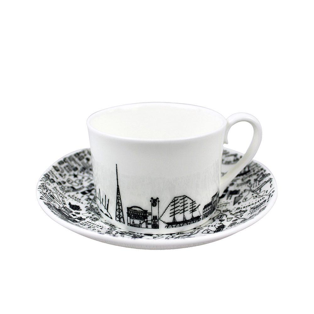 Designer homeware - South East London cup and saucer set