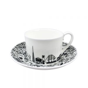 Designer homeware - South East London cup and saucer set