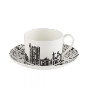 Designer homeware - West London cup and saucer set