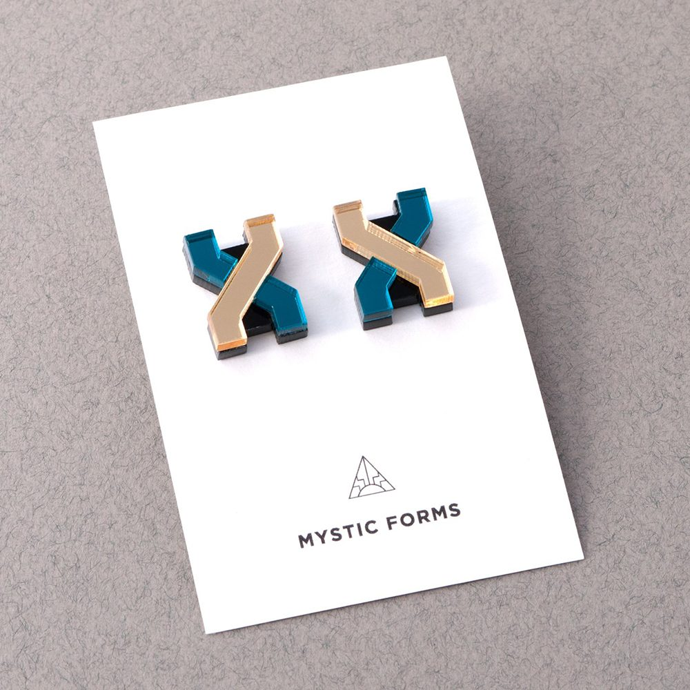 FORM 039 earrings backing card
