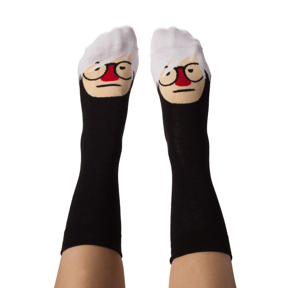 Fashion Socks - Andy Warhol design