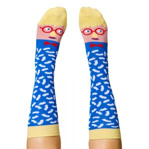 Fashion Socks - David Hockney design