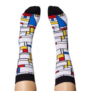 Fashion Socks - Piet Mondrian