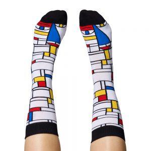 Fashion Socks - Piet Mondrian