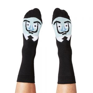 Fashion Socks - Salvador Dali design