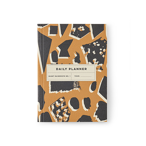 Luxury notebooks - giant raindrops planner