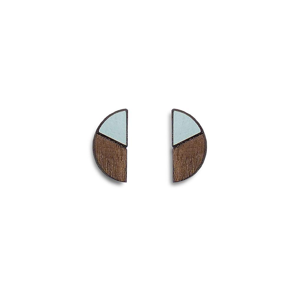 Handmade earrings - turquoise