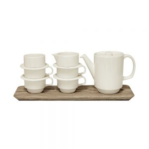 Homeware gift ideas - earthenware tea set