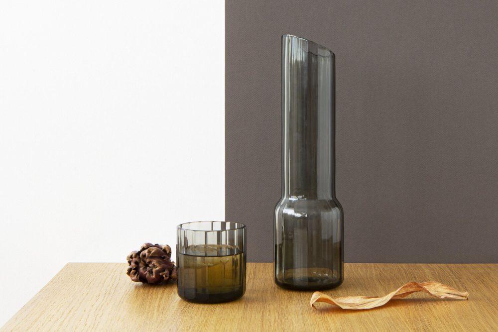 grey vase styled