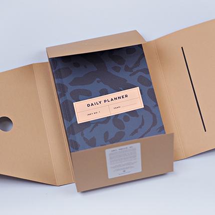 Luxury notebooks - inky no.1 planner, packaging