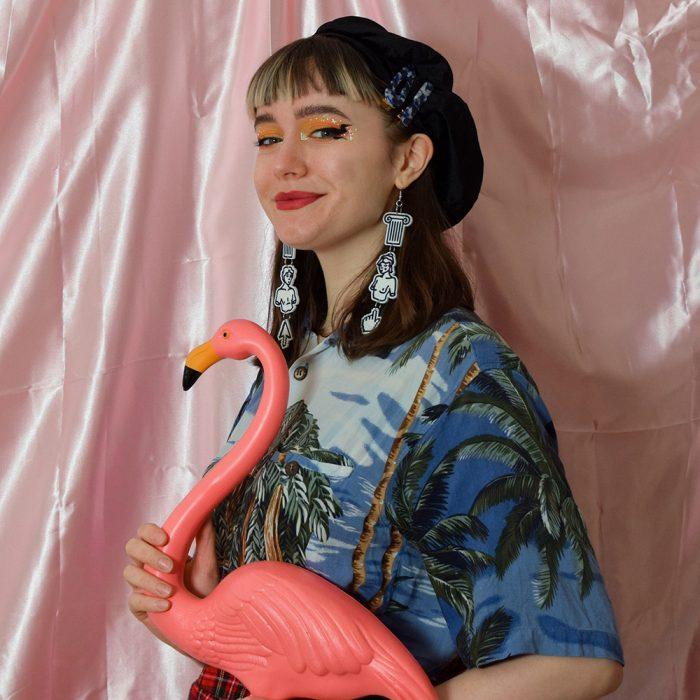 Portrait photograph of Juliette Stewart