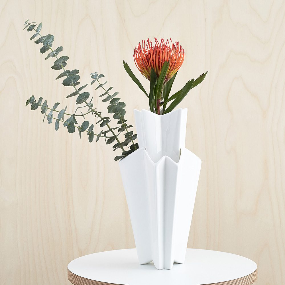 Designer homeware - 2 piece vase