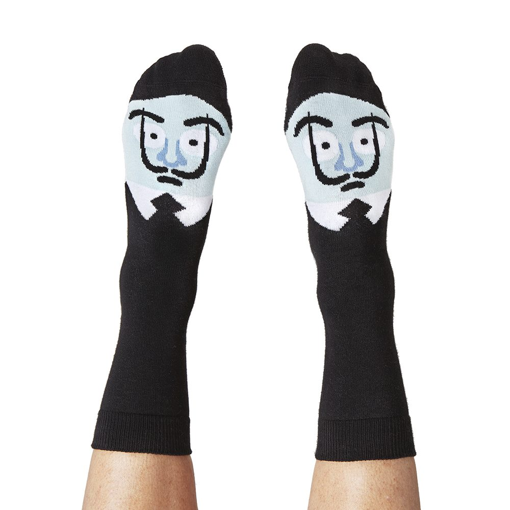 Fashion Socks Modern Artists Salvador Dali