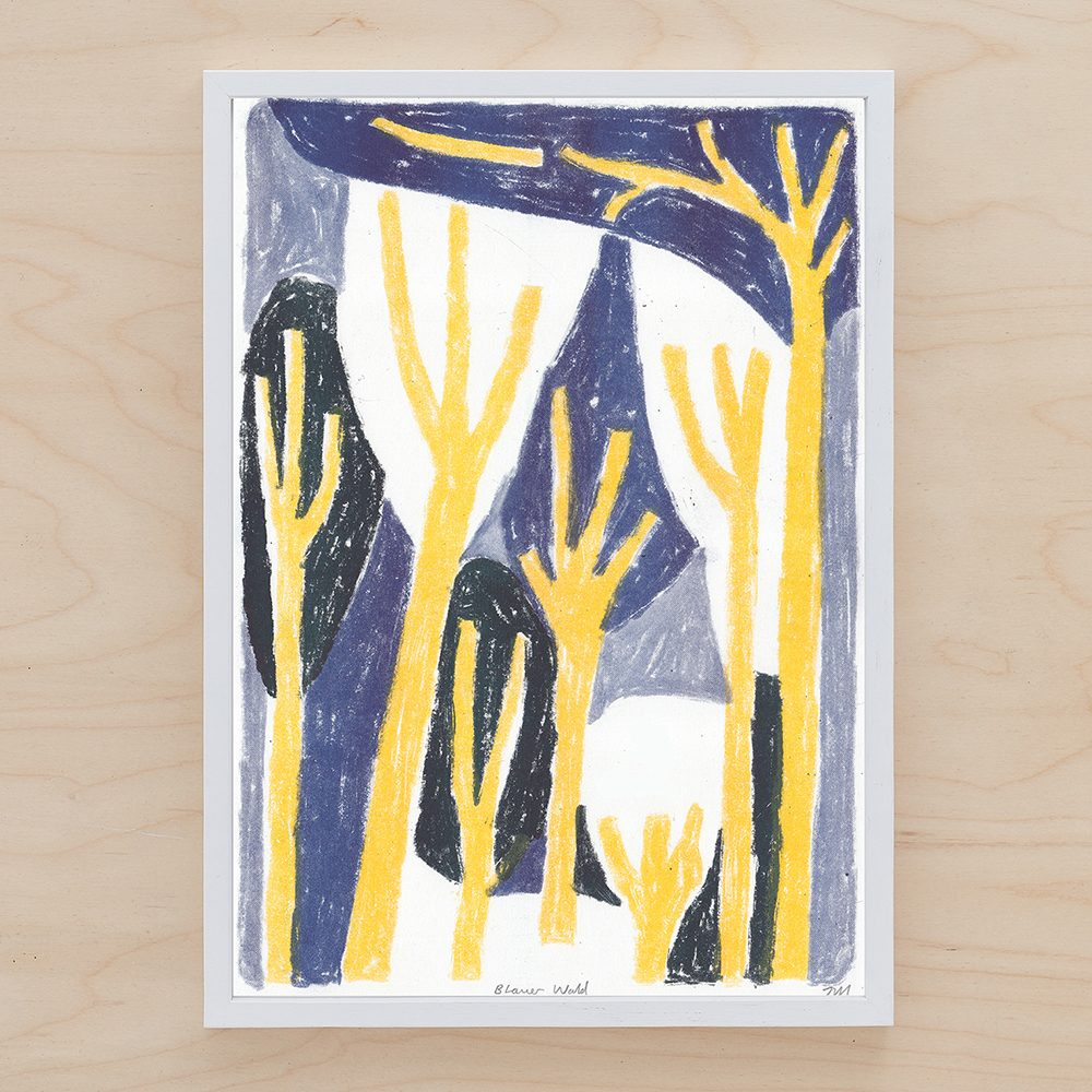Limited edition prints - Blauer Wald by John Molesworth