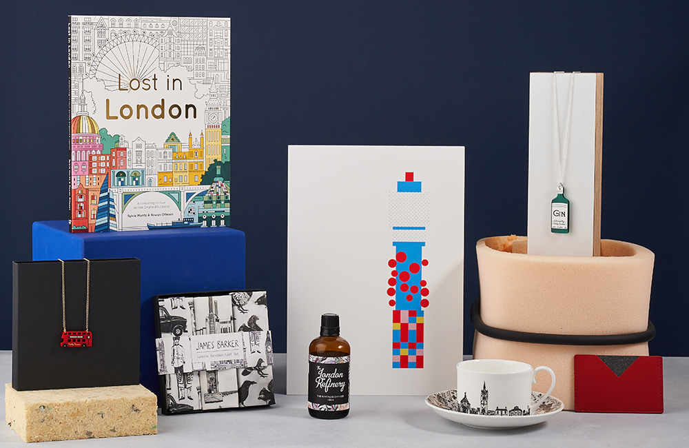 Selection of London gifts