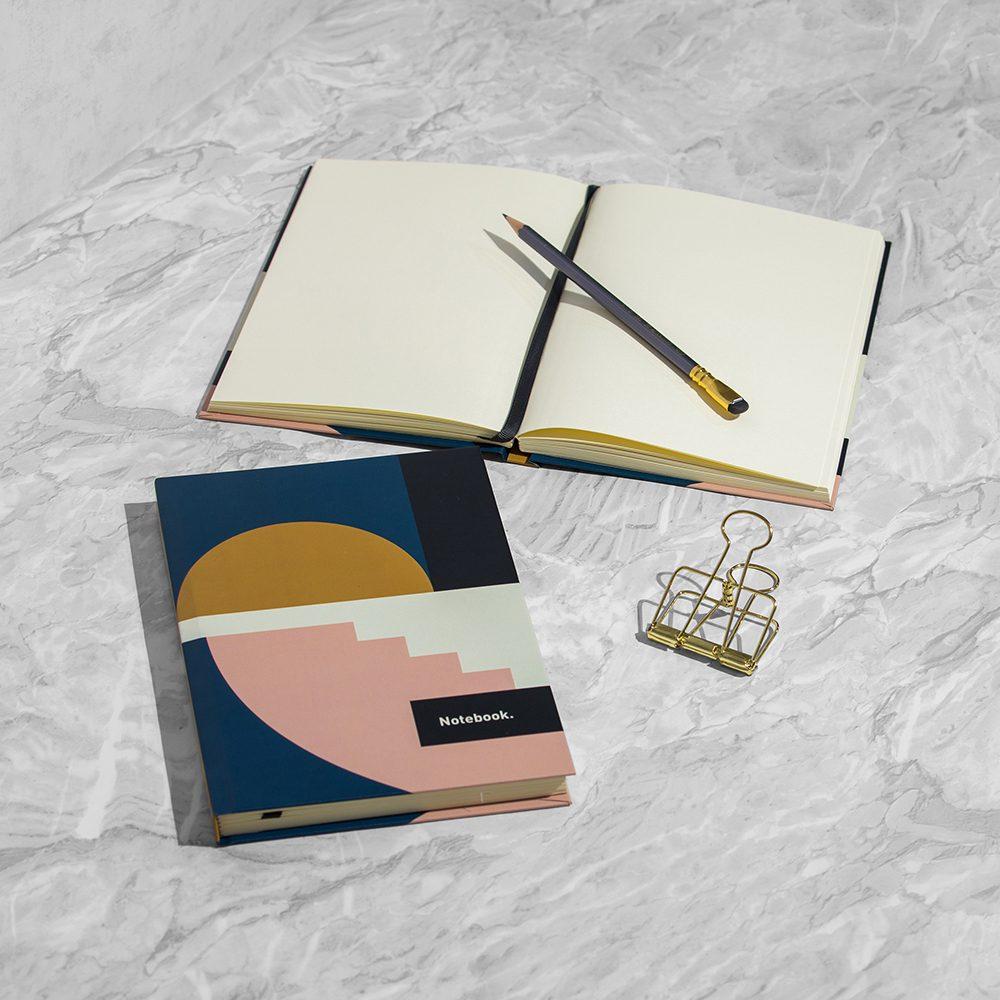 Luxury notebooks - shapes design