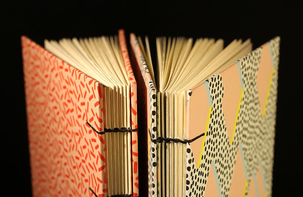 Patterned A5 Sketchbooks