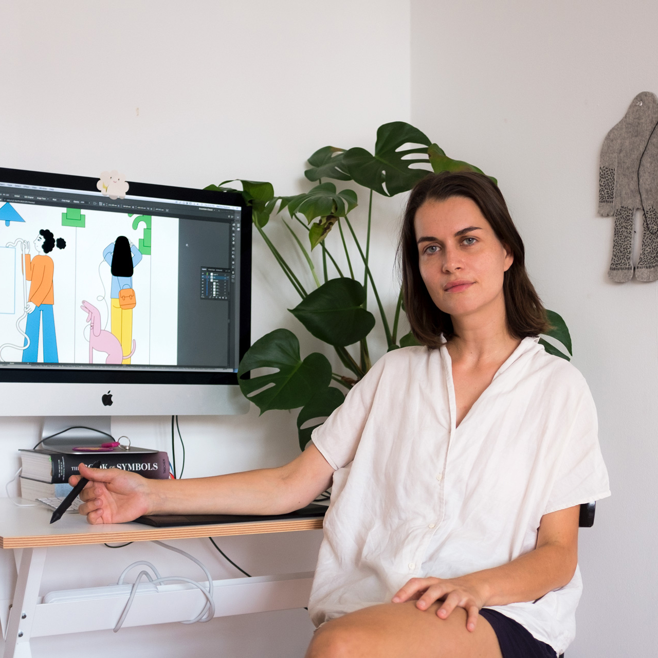 Photo of illustrator Martina Paukova