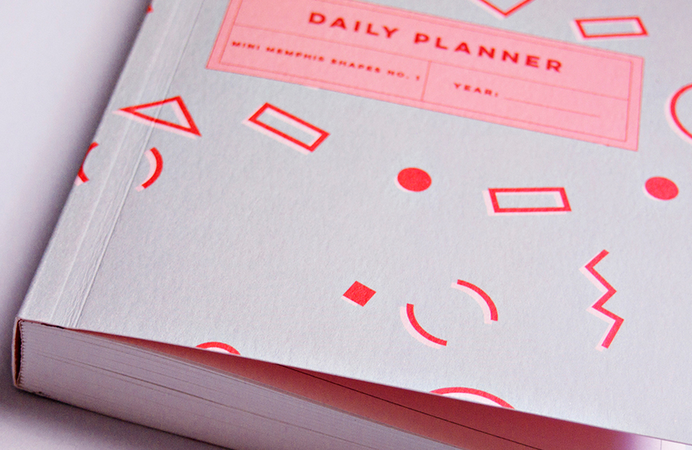 Mini Memphis Daily Planner