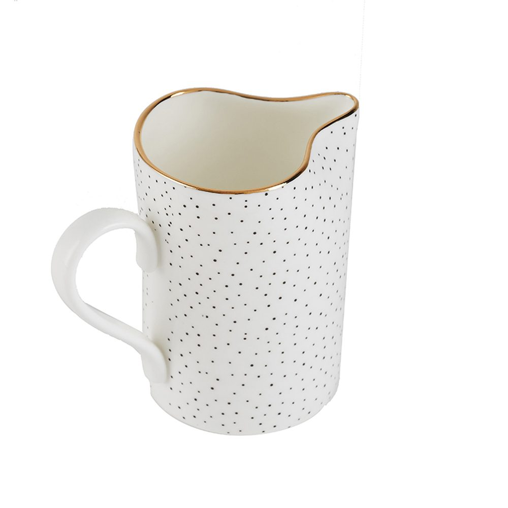 Modern tableware spotty milk jug