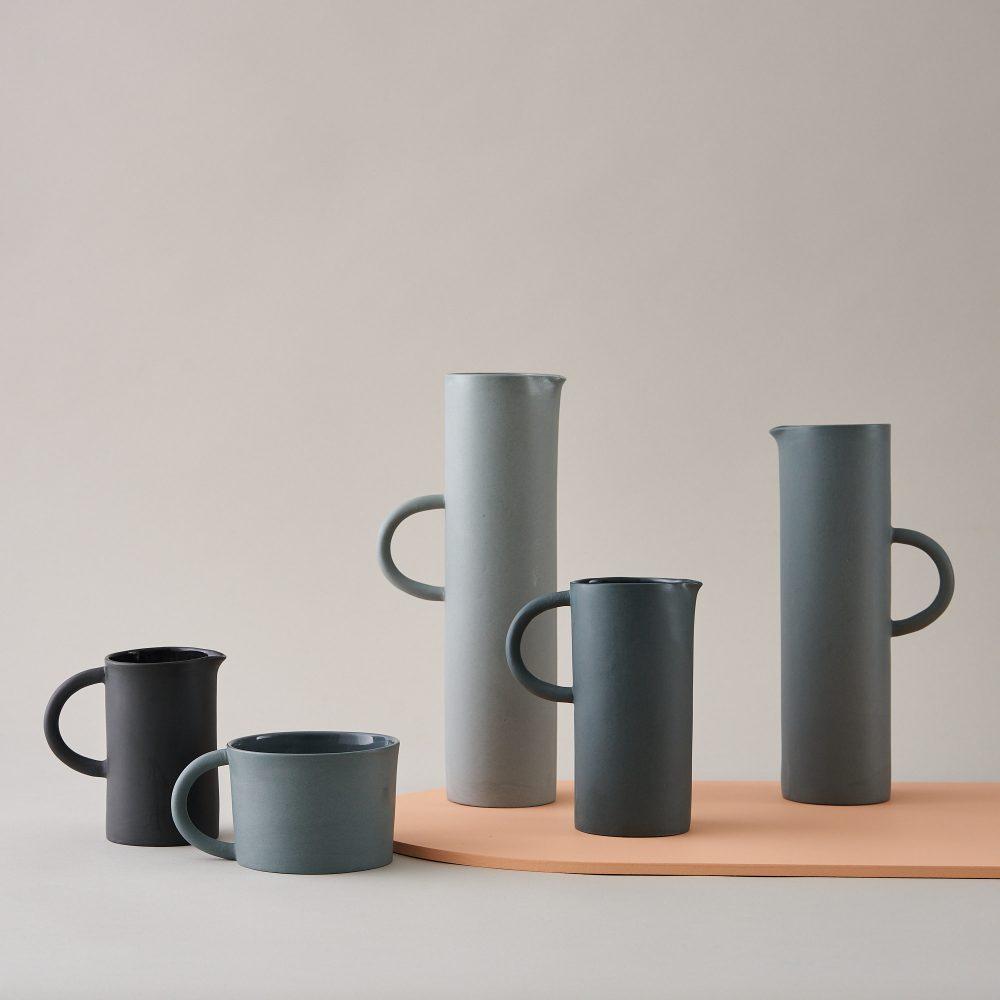 grey jugs