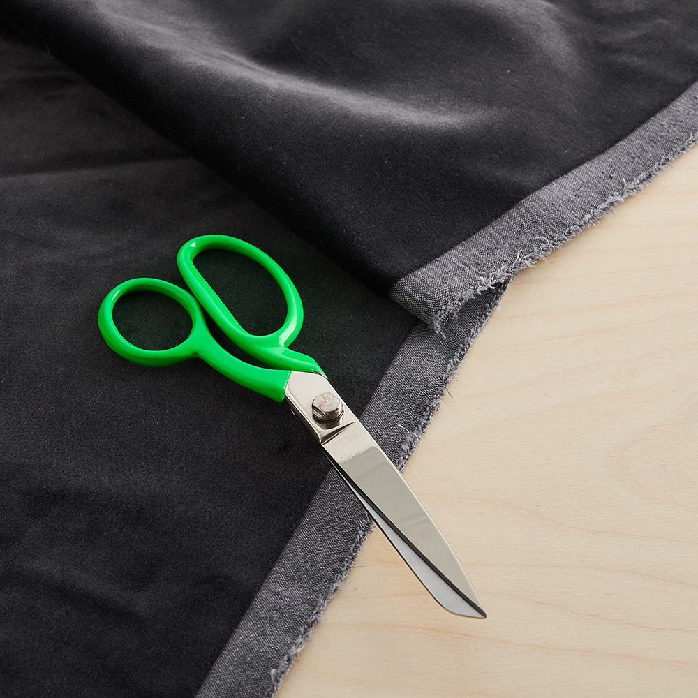 Gifts for crafters - neon green fabric scissors