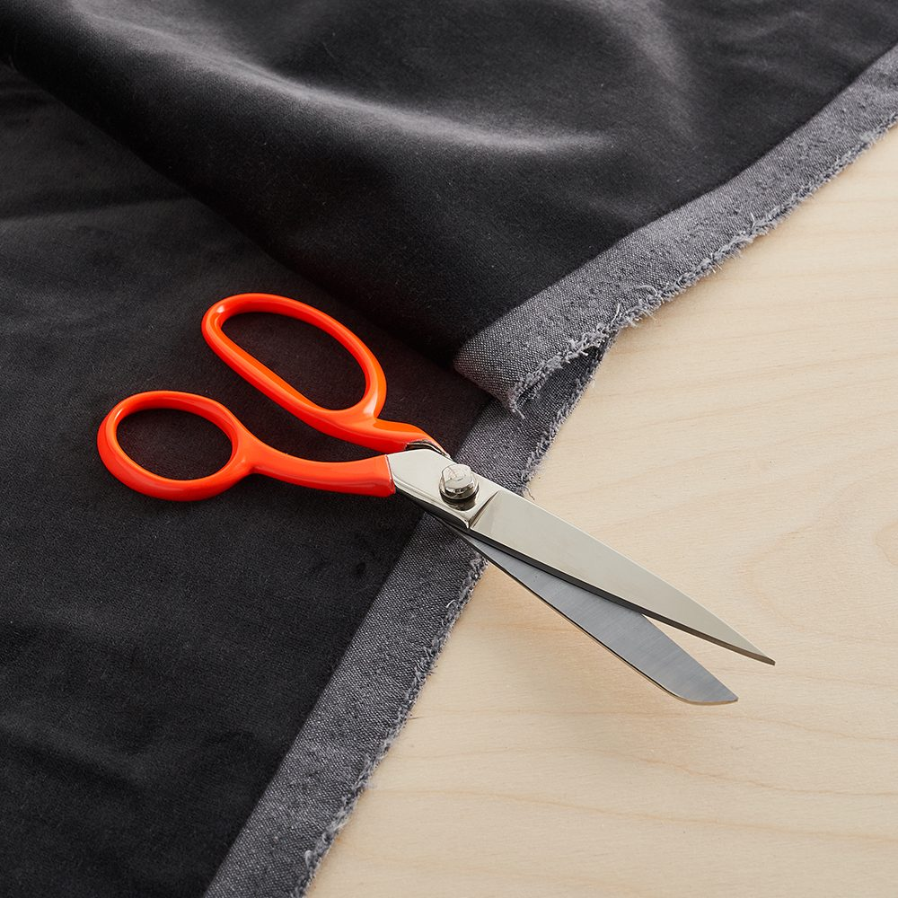 Gifts for crafters - neon orange fabric scissors