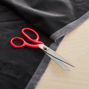 Neon scissors fabric pink OFFDN
