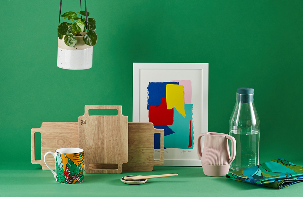 Selection of homeware products