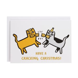cracking cats card