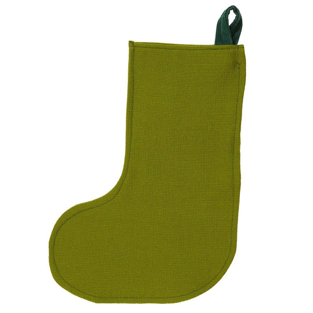moss green stocking