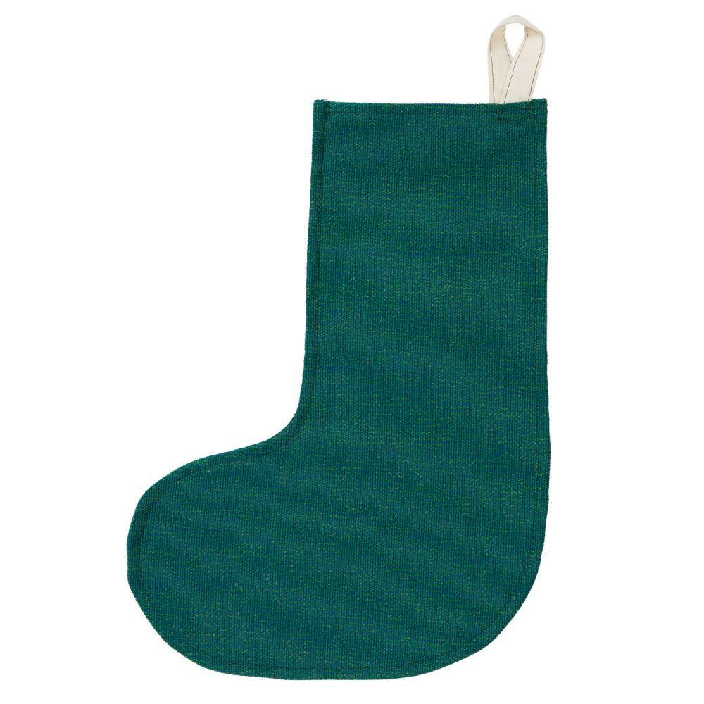 teal stocking